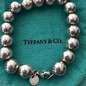 Tiffany & Co. 925 Ball Bracelet. 10mm